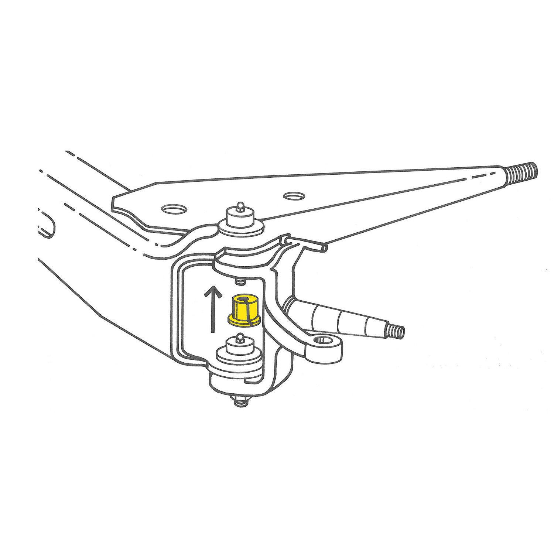 Alignment Camber Bushing-RWD Front Moog K8369