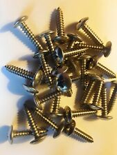 12 X 1 Sheet Metal Screws Truss Head Phillips Ab Pt Stainless Select Qty