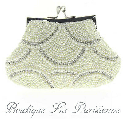 Kleidung & Accessoires Sammlung Hier Luxus Abendtasche Handtasche Perlen Kristall Tasche Schultertasche Brauttasche