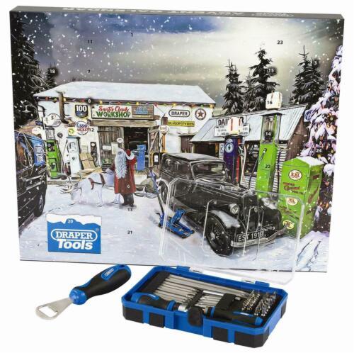 Draper 2019 Christmas Tool Advent Calendar,Bottle Opener Screwdriver Bits,90461