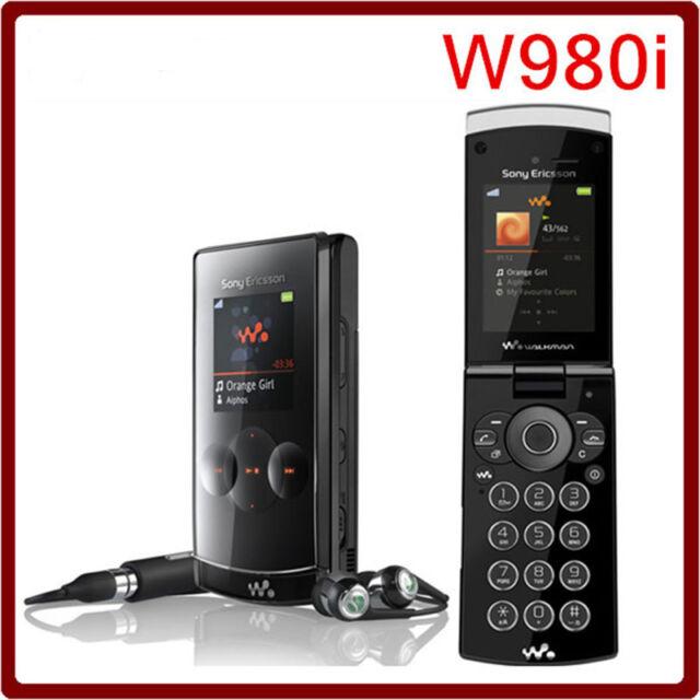 Fashion Sony Ericsson Walkman W980i Piano Black (Unlocked) Cellular Phone