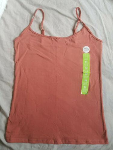 BNWT Primark Cami Vest Top Plain Stretch Adjustable Straps Size 2XS 4-24 2XL