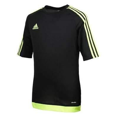 Adidas Estro 15 Teamwear Jersey Black Yellow Size Medium *ref56 Noch Nicht VulgäR