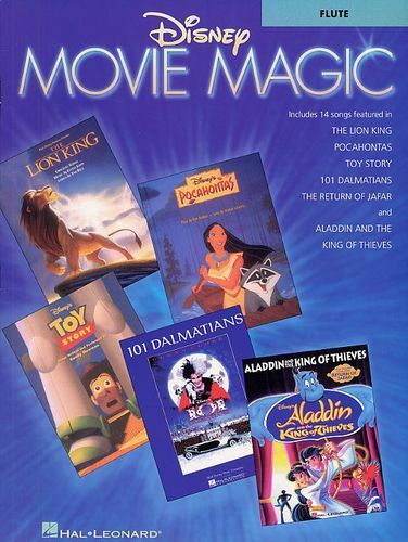 Disney Movie Magic Instrumental Solo EASY Flute Learn to Play Flute Music Book