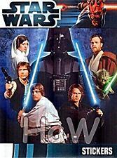 Star Wars Movie - 50 Sticker + Leeralbum -Topps 2012 - top - mint