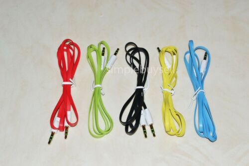 3ft 3.5mm Male to Male Audio Car Auxiliary Cable for Samsung Galaxy S3 S4 S5 S6