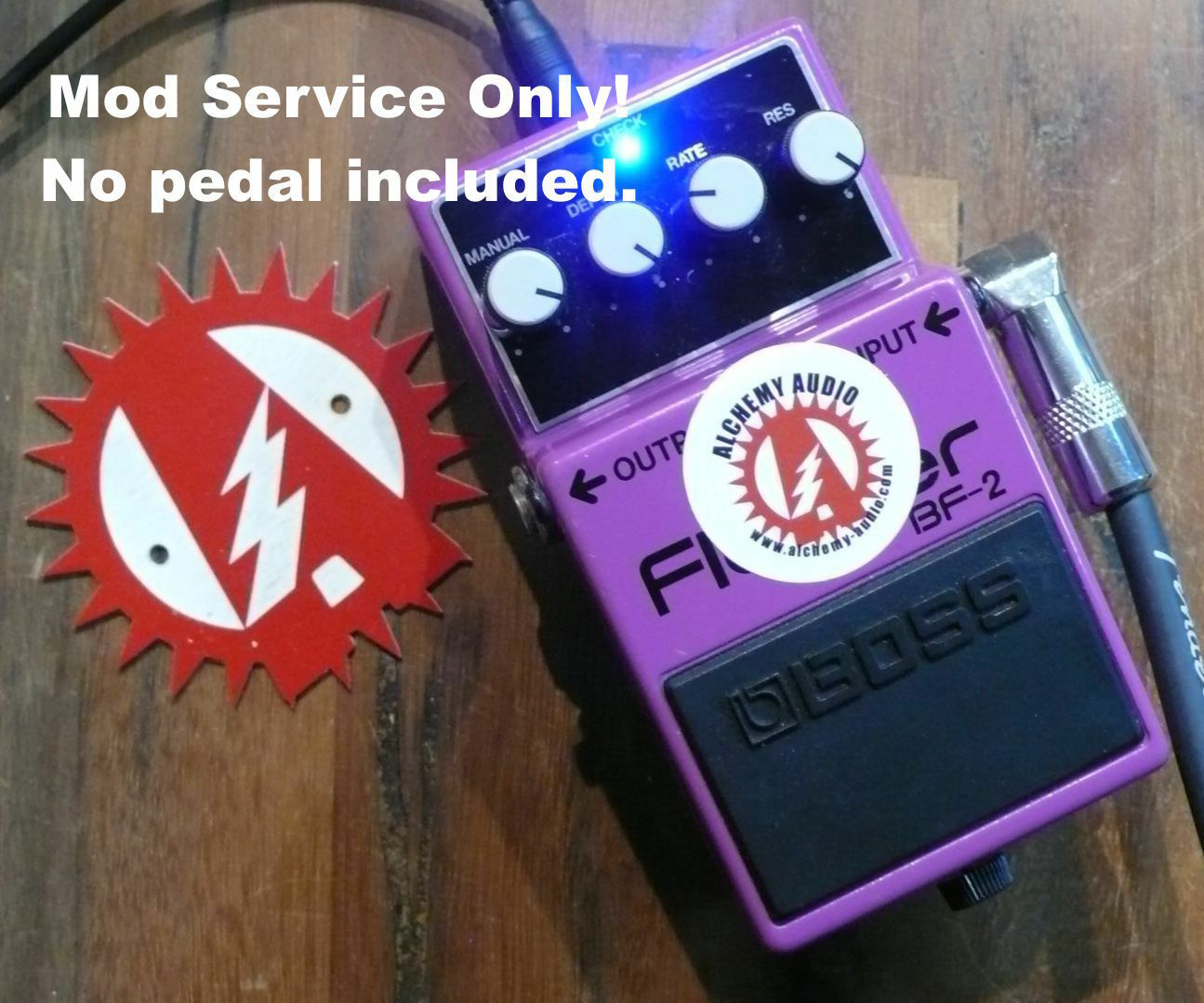 Modify your Boss BF-2 Flanger  Mod service Only (No Pedal)  Alchemy Audio.
