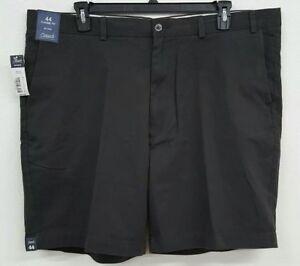 Roundtree-Yorke-Casuals-Big-Man-Dark-Grey-Flat-Men-039-s-Shorts-NWT-35-Choose-Sz