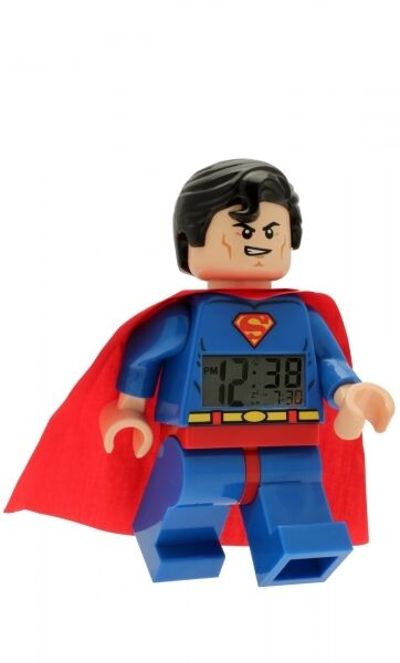 Lego Wecker Super Heroes Superman Kinderwecker Digital 08-9005701
