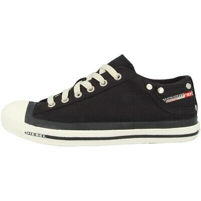 Diesel Exposure Low Scarpe Women Donna Tempo Libero Sneaker Black 00y835-pr413-h0144-0144 It-it Mostra Il Titolo Originale