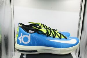 6f64beaf65e3 Nike KD 6 VI SZ 9.5 DS Sprite Golden State Warriors Glow In the Dark ...