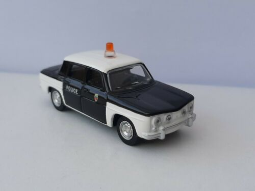 Norev 3 inches Neuve sous blister. Renault 8 police Echelle environ 1//60