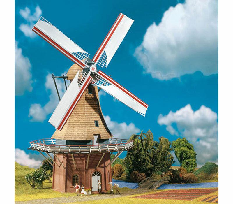 FALLER Windmill Model Kit w  Motor I HO Gauge 130383