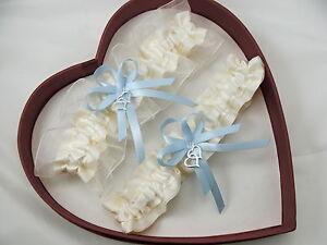 Image Is Loading NEW Sexy Ivory Blue Wedding Garter Select Single