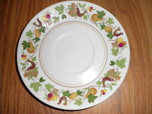 NORITAKE-HOMECOMING-SAUCER-PROGRESSION-Set-of-3