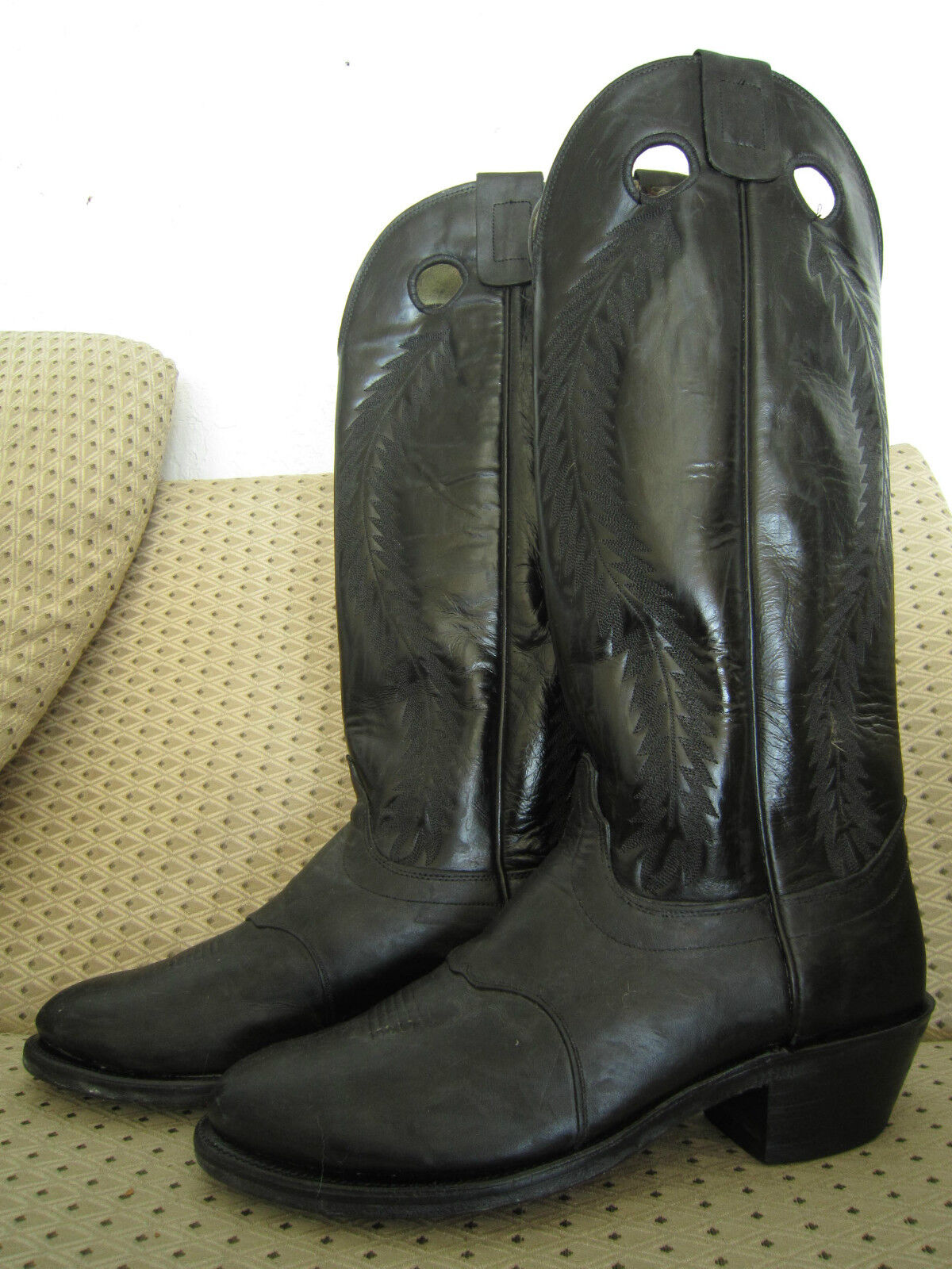 Vintage By CAPRIOLA Cowboy Stiefel - By Vintage World Famous Saddle Maker To The Stars  sz 11 873265