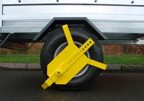 Universal Wheel Clamp for Trailers Caravans etc Heavy Duty TR102