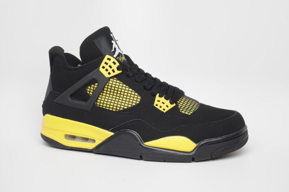 Nike Air Jordan 4 Air IV Thunder 308497 008 Air 4 Max sz 10 f7636e