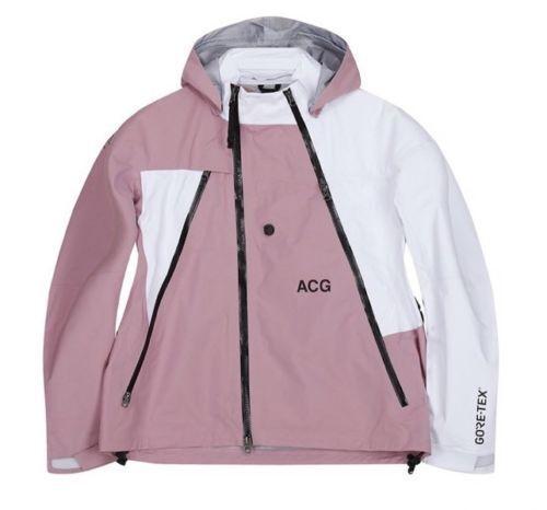 Nikelab Acg blanco S chaqueta tex® 923952 Deploy Hombres tamaño Gore Nike 678 xl rosa gEWndqg