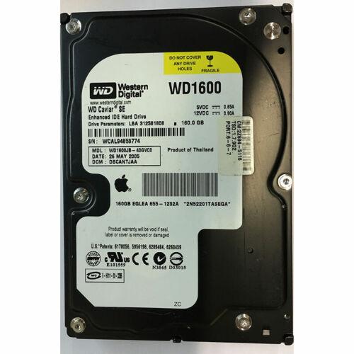 7200RPM WD1600JB-40GVC0 IDE Western Digital 160GB