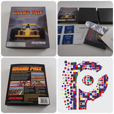 2019 Ultimo Disegno Formula One Grand Prix Un Gioco Microprose Per L'atari St Testato & Lavoro In Buonissima Condizione-