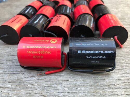 Claritycap Clarity Film Capacitor SA 5.6 uf 630v Audio Grade Clarity cap
