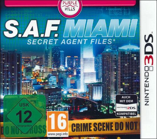 Secret Agent Files           Nintendo 3DS       !!!!!! NEU+OVP !!!!!!
