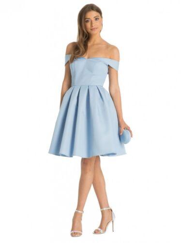 London Demi Dress Chi Blue 16 ZFwdx7