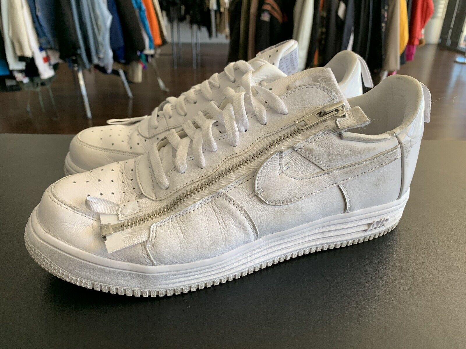 Nike Lunar Force 1 X Acronym '17 Size 11 White AJ6247-100