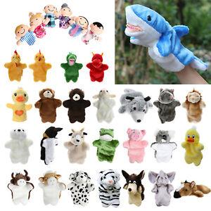 Tier-Wildleben-Hand-Handschuh-Handpuppe-Weich-Pluesch-Kinder-Spielzeug-Geschenk