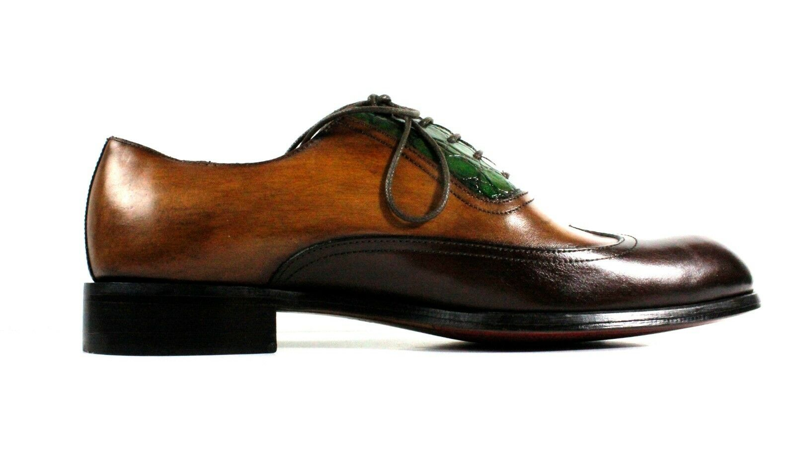IVAN TROY Trio Trio Trio Farbes Handmade Italian Leather Dress schuhe  Oxford Office schuhe bb2d46
