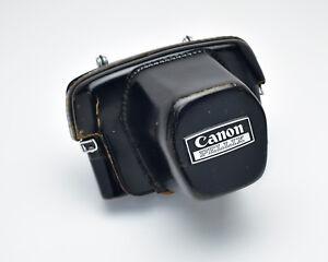 Genuine-Black-Leather-Canon-Pellix-Eveready-Camera-Case-Pellix-T490