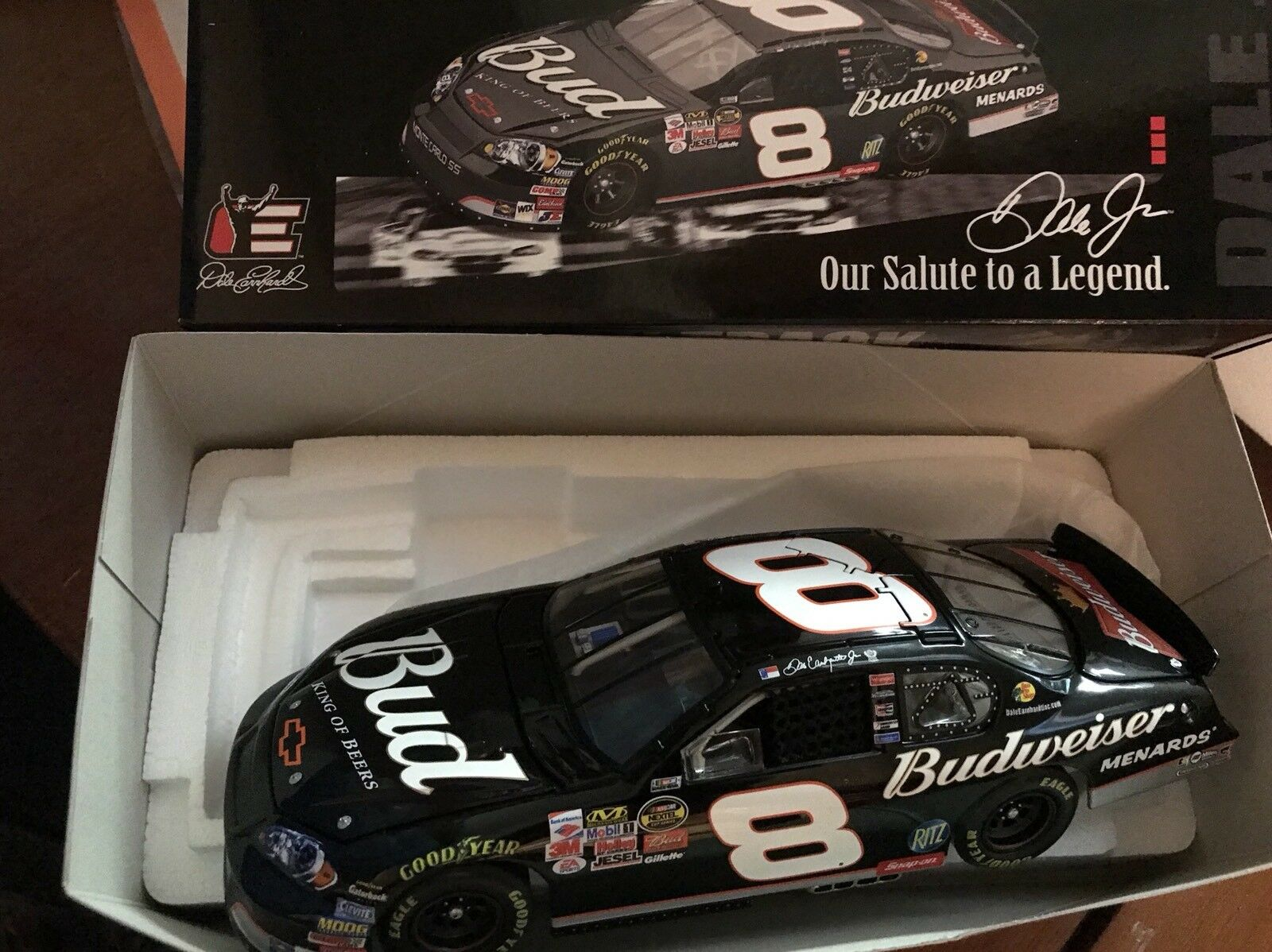 Dale Earnhardt Jr Budweiser back on track 3 días Dale 2006 acción 1 24 nero