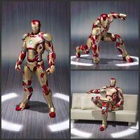 Iron Man Marvel Action Figure 18cm Mark  Toy Legends Avengers Kid Gift