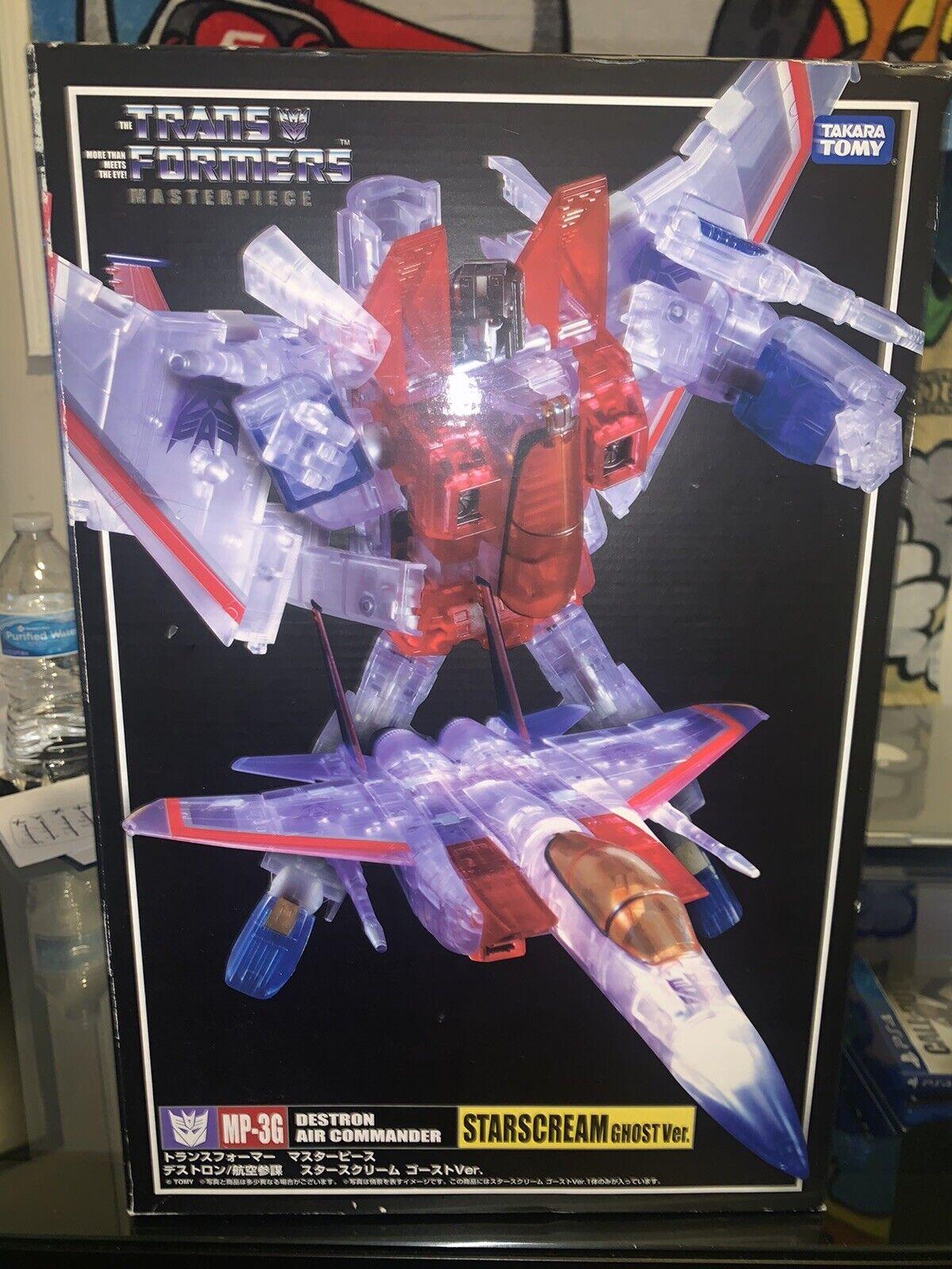 Takara Transformers Masterpiece estrellas  MP-3G - Crema Figura De Acción