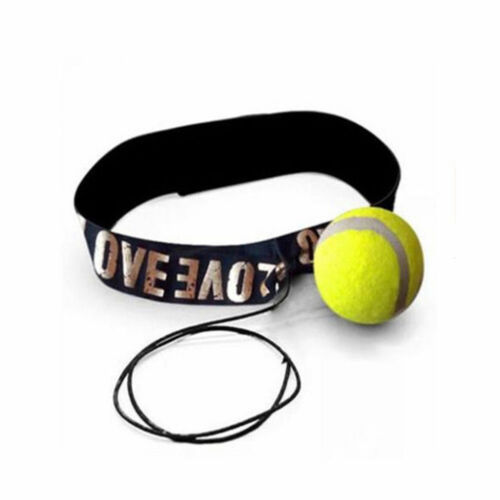 Boxing Muay Punch Exercise Sport MMA Fight Tennis Ball For Reflex Speed Training