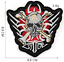 miniature 4 - PIRATE SKULL Embroidered Biker Patches Skeleton Iron / Sew on Badges Grim Reaper