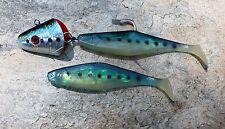 CHESAPEAKE BAY LURES 12oz Red Eye Shad Rockfish 12/0 Mustad Hook - Bunker