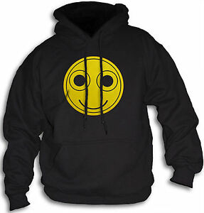 Funny-Smiley-Face-Hoody-Acid-Trip-LSD-Rave-XTC-Mens-Women-039-s-Hooded-Top-Sm-2XL