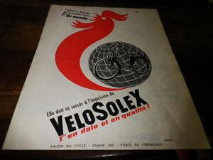Velosolex-Ciclomotor-1ERE-Publicidad-de-Prensa-Press-Publicidad-1956