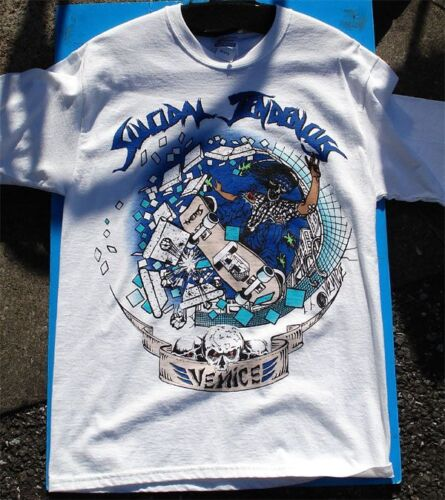 Suicidal Tendencies Venice Skater Shirt Size SM RARE MD or XL