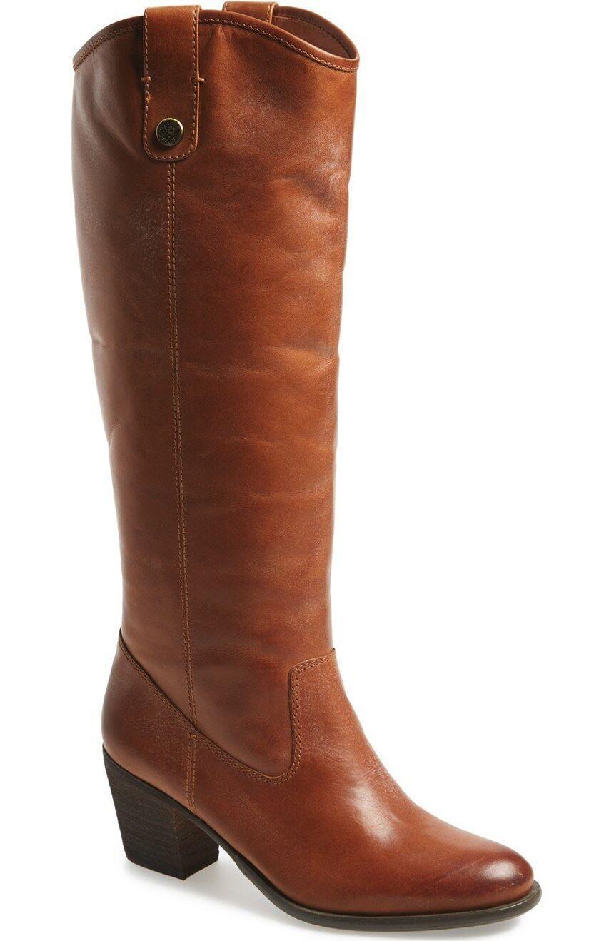 Vince Camuto Women's KOLTON Boot RICH COGNAC,4