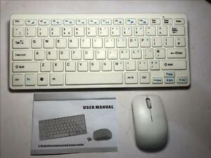 """2.4Ghz Sans fil petit clavier et souris Set pour SAMSUNG LT27B551 Smart 27"""" TV DEL-afficher le titre d`origine eigkPm0q-09121324-357989471"""