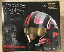 Poe Dameron Helmet Movie Star Wars X-Wing Mask Cosplay Costume Props XCOSER