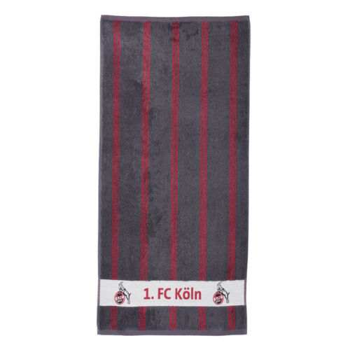 1 FC Cologne Duschtuch rayé taille 70x140 cm