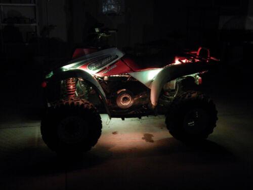 14PC LIMITED LED GLOW ATV UTV QUAD 4WHEELER UNDERBODY LIGHT KIT wKEYCHAIN REMOTE