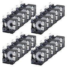 20pk For Dymo Rhino 42005200 Heat Shrink Tube 18057 Industry Label Tape 34x5