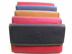 NEW HIGH QUALITY DESIGNER LEATHER PURSE WALLET CREDIT CARD HOLDER COIN POUCH
