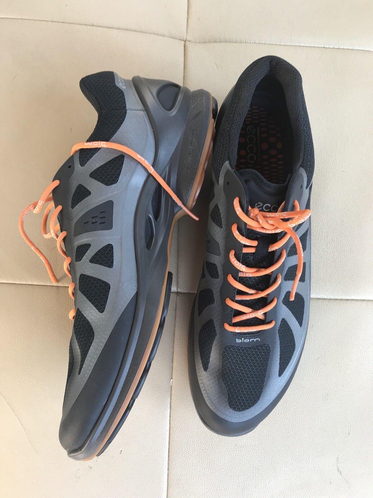 Men's ECCO  BIOM  FJUEL  Black  Racer Sneakers, Sz 12