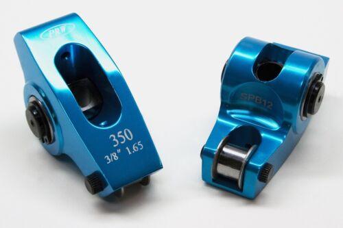 "PRW 0335023 Aluminum Roller Rocker Arm Chevy SB V8/'s 1.65 Ratio 3//8/"" self Align"